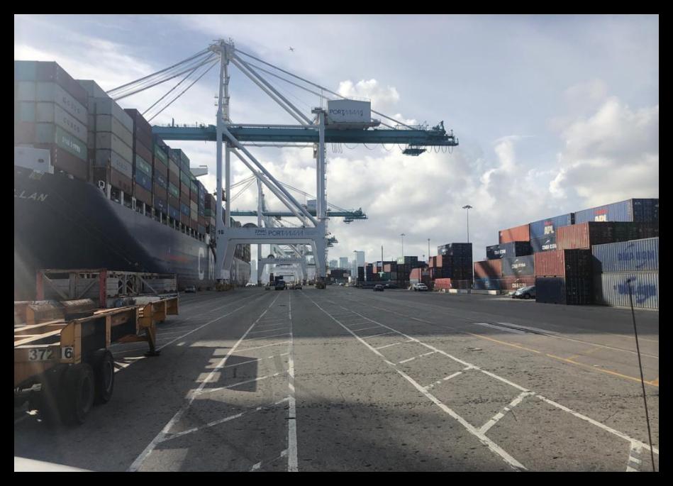 Misión Inspecciones Puerto y Aeropuerto Miami – EE.UU